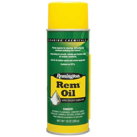 Is Rem Oil Good For Cleaning Guns