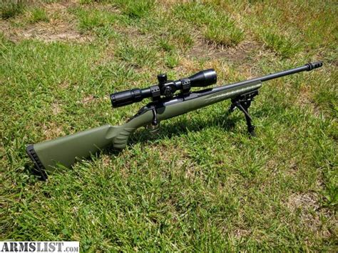 Is Ruger American Rifle 308 Threaded Barrel