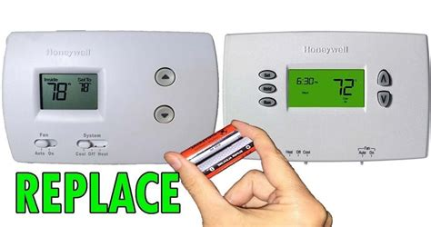 Is There A Battery In A Honeywell Thermostat