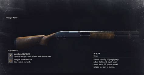Is There A Shotgun In Re2 Remake