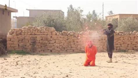 Isis Shooting Video Shotgun