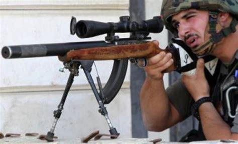 Israeli Ruger 10 22 Suppressed Sniper Rifle