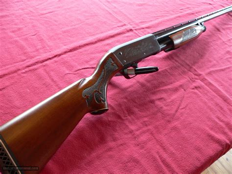 Ithaca Pump Action Shotgun