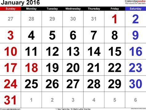Blank Calendar January February 2016 Outlook 2007 Calendar