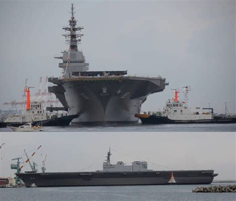Japan Self Defense Force Aircraft Carrier