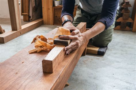 Japanese woodworking Image
