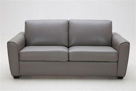 Jasper Leather Sofa Sleeper