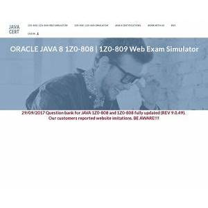 Cheap java certification full simulator by java certification questions
