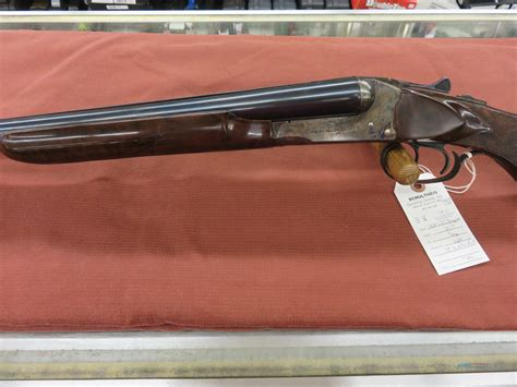 Jc Higgins Double Barrel Shotgun