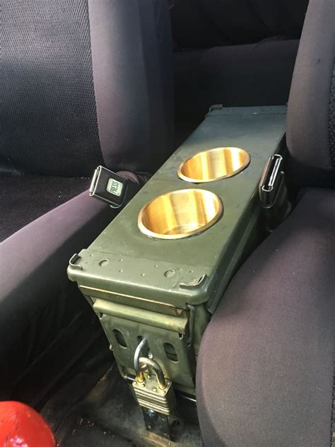 Jeep Ammo Can Center Console