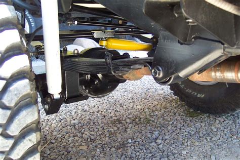 Jeep Spring Over Axle Kit