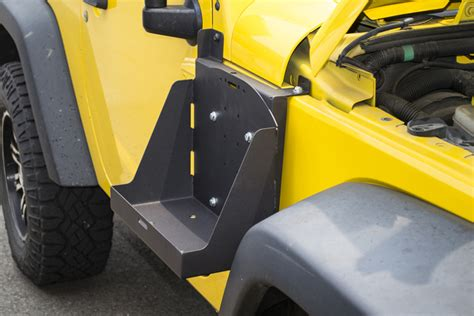 Jeep With Ammo Can Mounted On Side