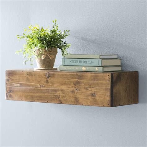 Jensen Wood Floating Shelf