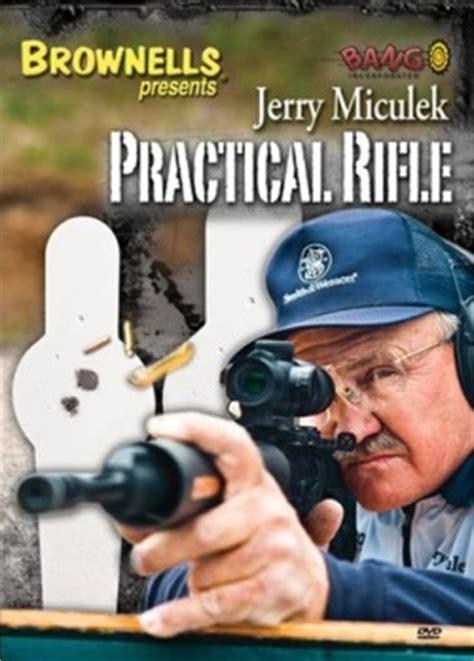 Jerry Miculek S Practical Rifle 3 DVD Set