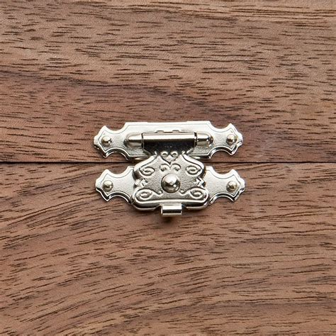 Jewelry box latch hardware Image