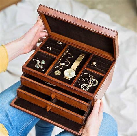 Jewelry box leather uk Image