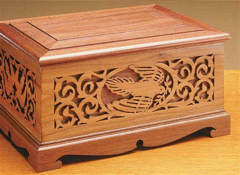 Jewelry scroll saw boxes Image