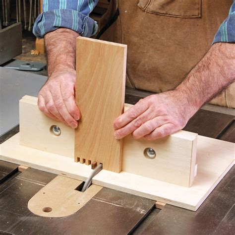 Jig for box joints Image