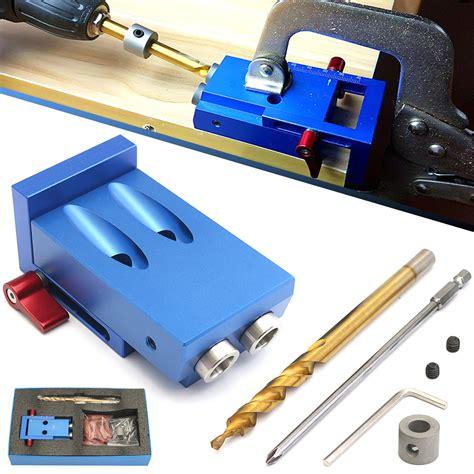 Jig for drilling pocket holes Image