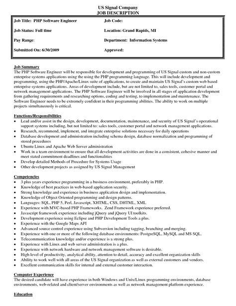Job Description Template Free CV Templates Download Free CV Templates [optimizareseo.online]