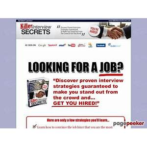 Job interview questions and answers killer interview secrets methods