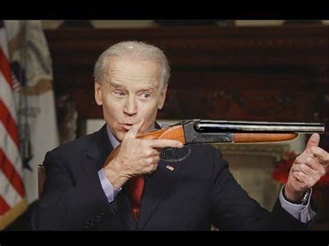 Joe Biden Double Barrel Shotgun
