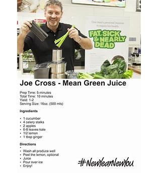 Joe Cross Green Juice Recipe