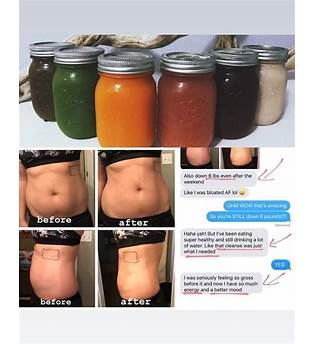 Juice Cleanse Weight Loss Results