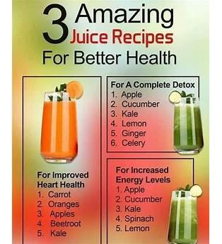 Juice Fasting Recipes