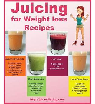 Juicing Fast Weight Loss
