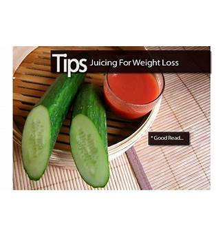 Juicing Tips For Weight Loss