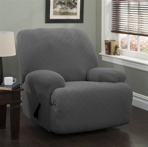 Jumbo Box Cushion Recliner Slipcover