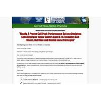 What is the best junior golf training an untapped market!?