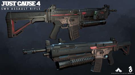 Just Cause 4 Assault Rifle