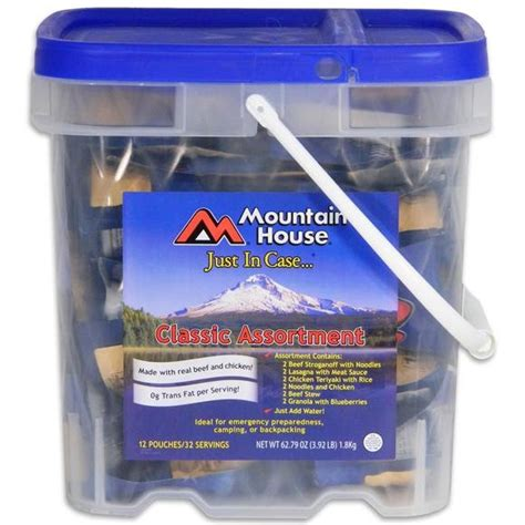 Just In Case Classic Assortment Bucket - Mountain House