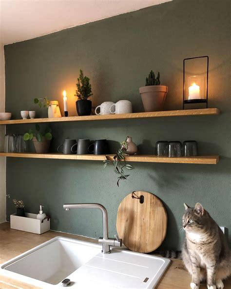 Küche Farbe Wand