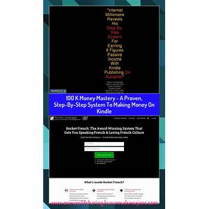 K money mastery a proven, step by step system to making money on kindle promo code
