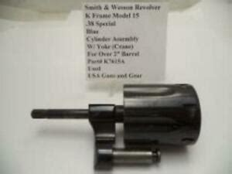 K7615a Smith Wesson K Frame Model 15 Cylinder Assembly