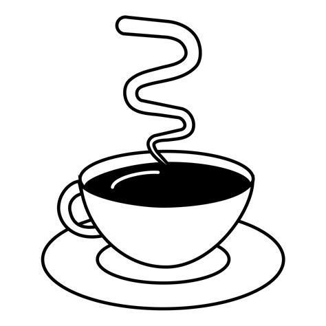 Kaffee Malvorlage