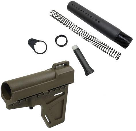 Kak Industry Shockwave Pistol Brace Package Olive Drab