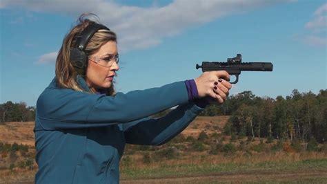 Katie Pavlich Shoots A Rifle