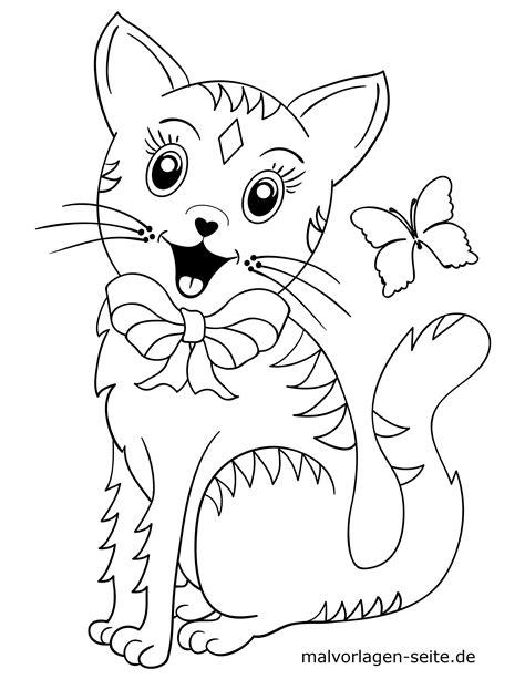 Katzen Malvorlagen Für Kinder