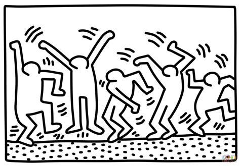 Keith Haring Malvorlagen Ausdrucken