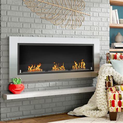 Kelling Ventless Recessed Wall Mounted Bio-Ethanol Fireplace