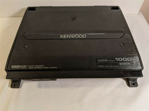 kenwood 1000 watt 2 channel amp pdf manual