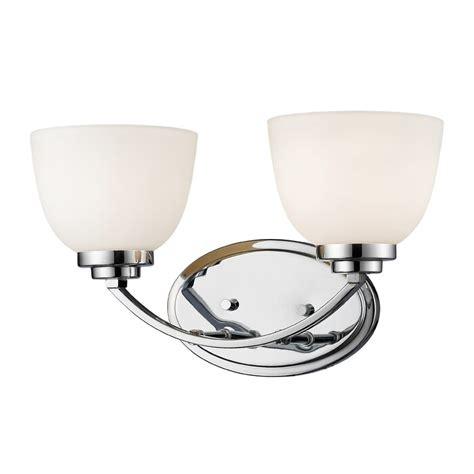 Kepner 2-Light Glass Shade Vanity Light
