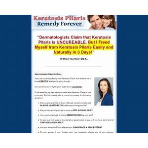 Keratosis pilaris remedy forever how to free yourself from keratosis pilaris forever! discount code