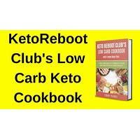 Keto cookbook ketoreboot club s low carb cookbook guide