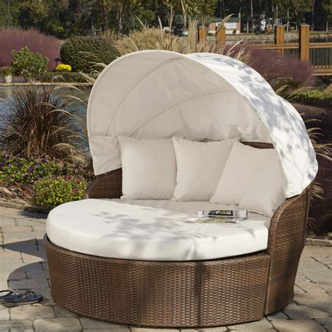 Key Biscayne Patio Daybed with Sunbrella Cushions