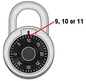 Key Recovery Process Master Lock